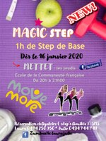 Magic step - 1h de step de base